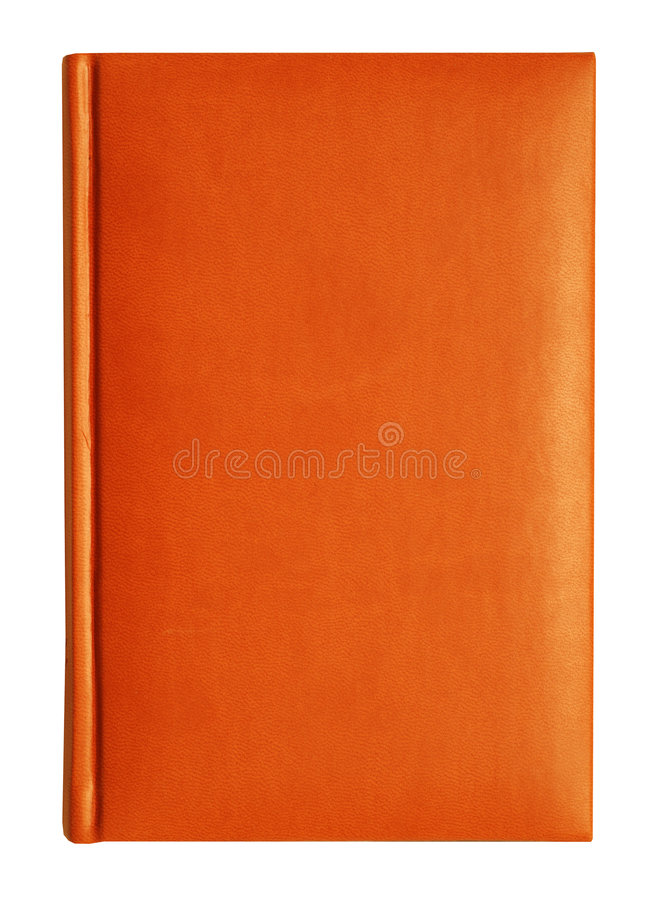 Leather notebook royalty free stock photos