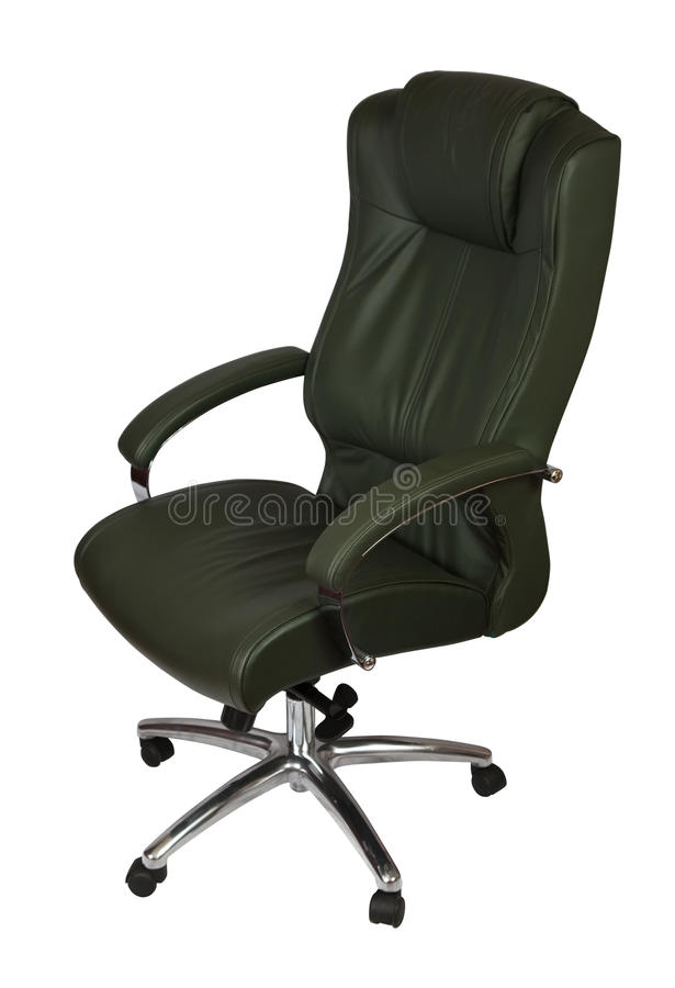 Leather Office Chair Royalty Free Stock Photography
