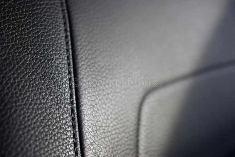 Leather seat texture royalty free stock photo