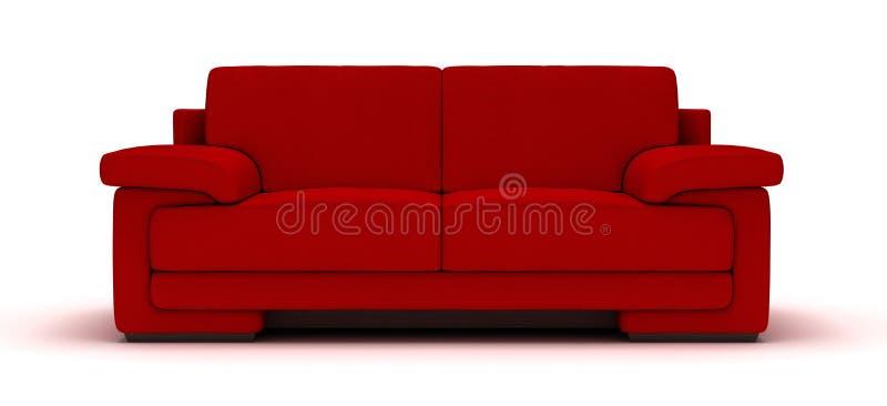 Leather Sofa royalty free stock image