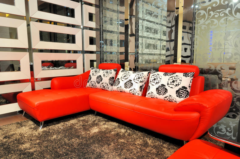 Download Leather Sofa In Living Room Stock Photo - Image: 20972808