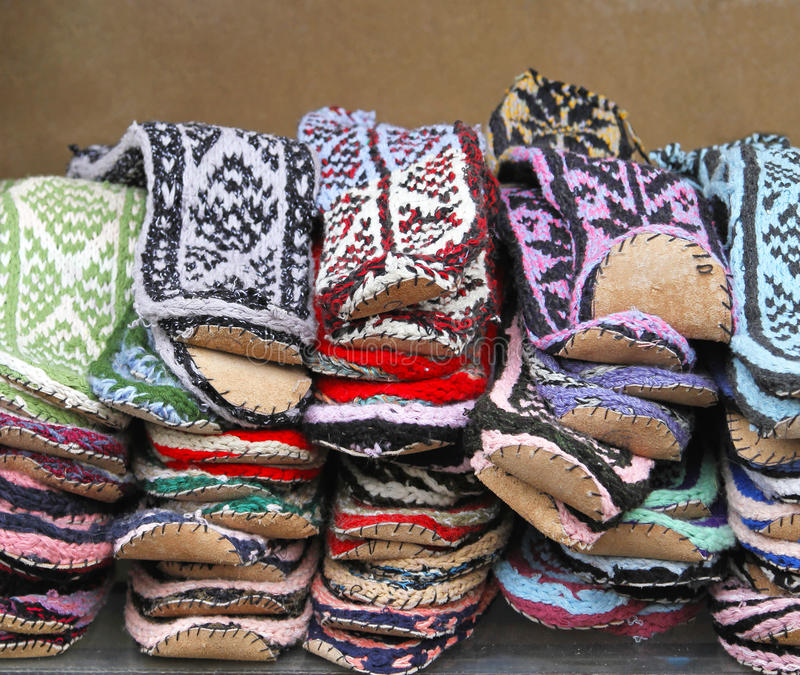 Download Leather sole socks stock photo. Image of colourful, accessories - 27594982