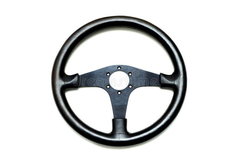 Download Leather steering wheel stock image. Image of passenger - 83704567