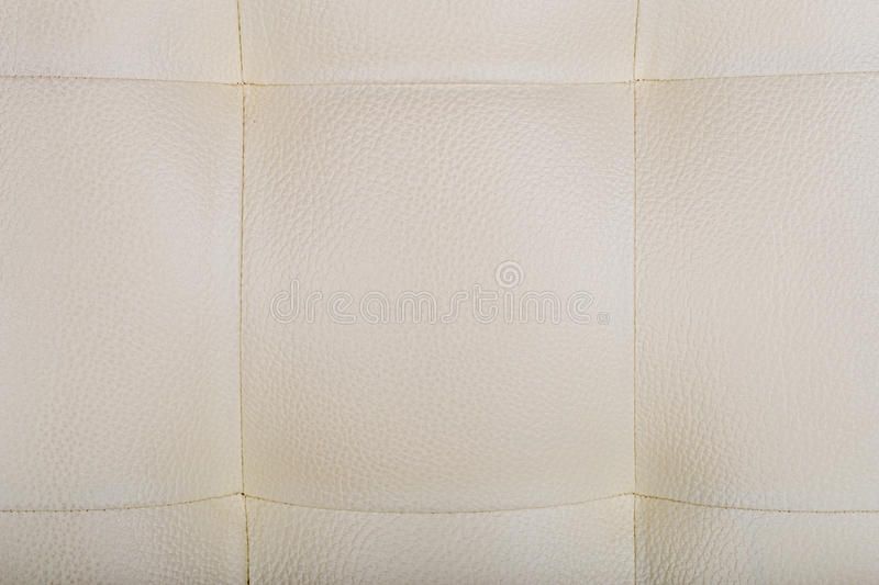 Leather style chair background cream color royalty free stock images