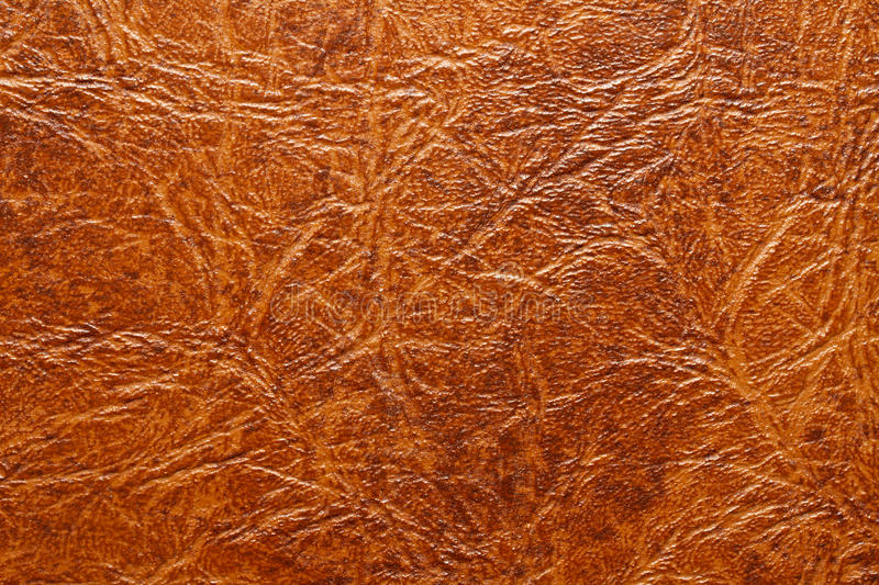 Leather texture. Brown leather texture for background royalty free stock photography