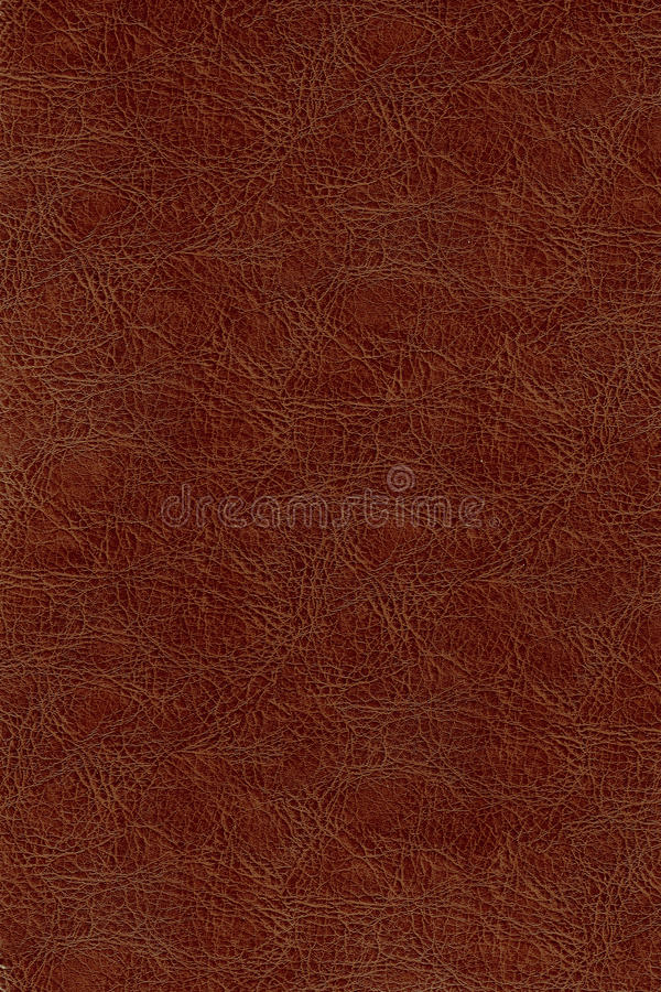 Leather texture. Seamless red leather texture, good for book cover, or clothing material stock image