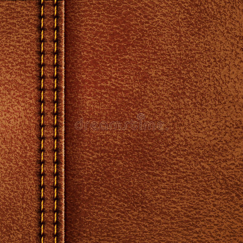 Leather texture. Vector eps10 illustration royalty free illustration