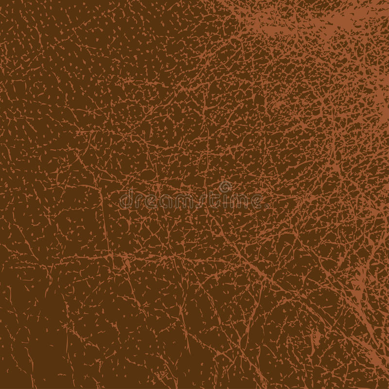 Leather Texture. Abstract red leather texture - background stock illustration