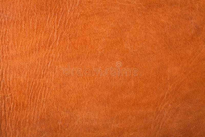 Leather Texture. Brown leather texture for background. Close up, top view royalty free stock images