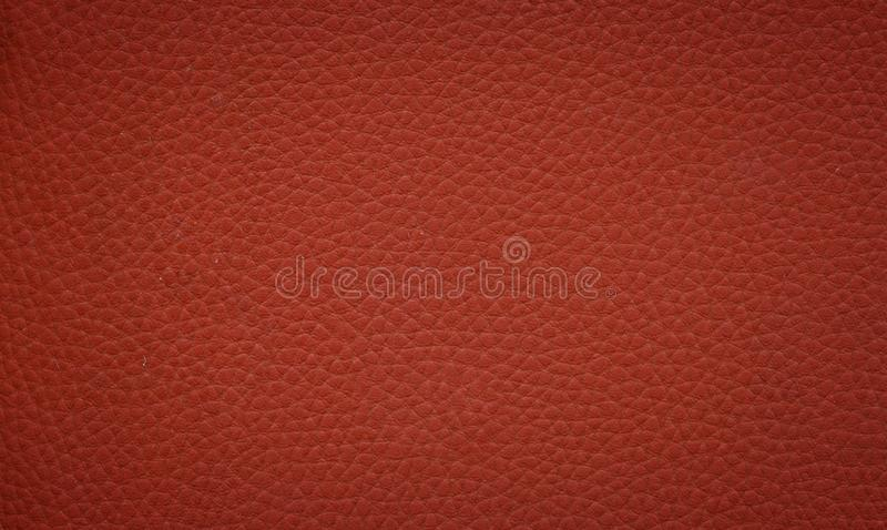Leather texture. A brown leather texture background royalty free stock images