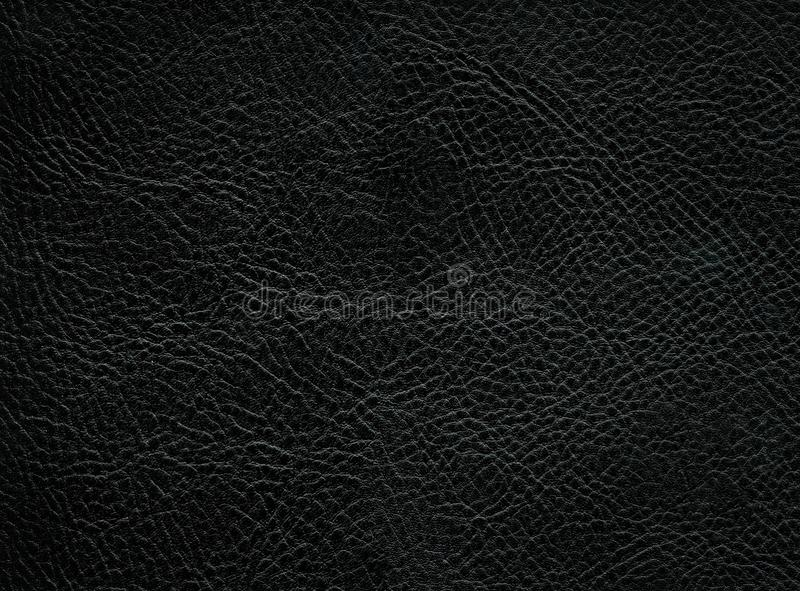 Leather Texture. Closeup of a leather texture background royalty free stock photo