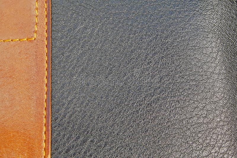 Download Leather textured stock image. Image of border, brown - 15840511
