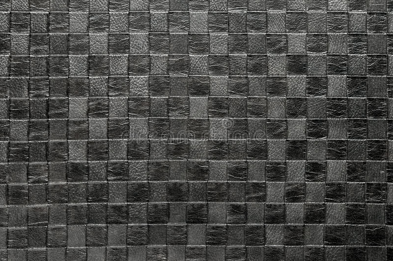 Leather upholstery royalty free stock photography