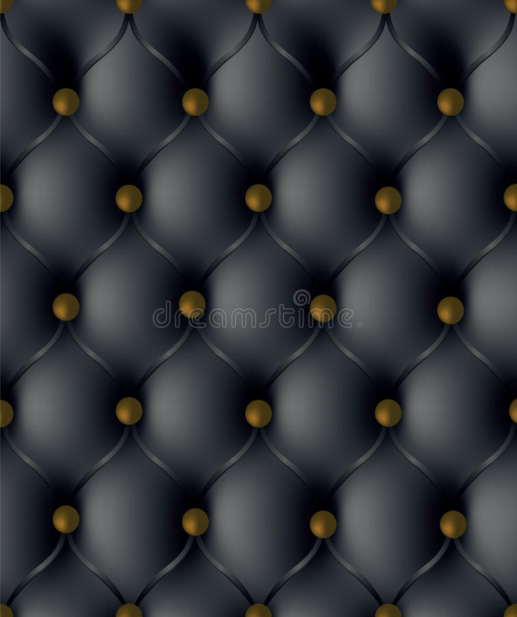 Download Leather upholstery stock illustration. Image of fabric - 22755532