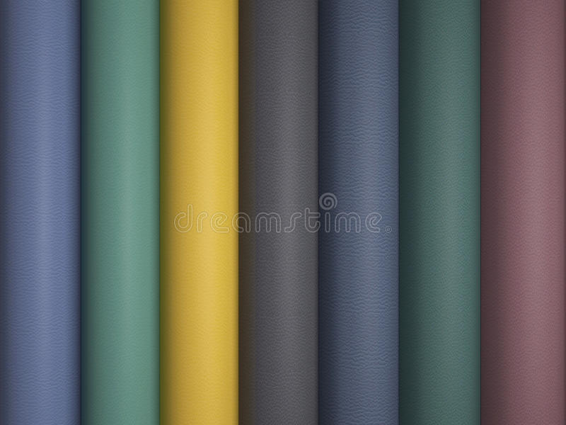Leather variegated fabric texture. stock illustration