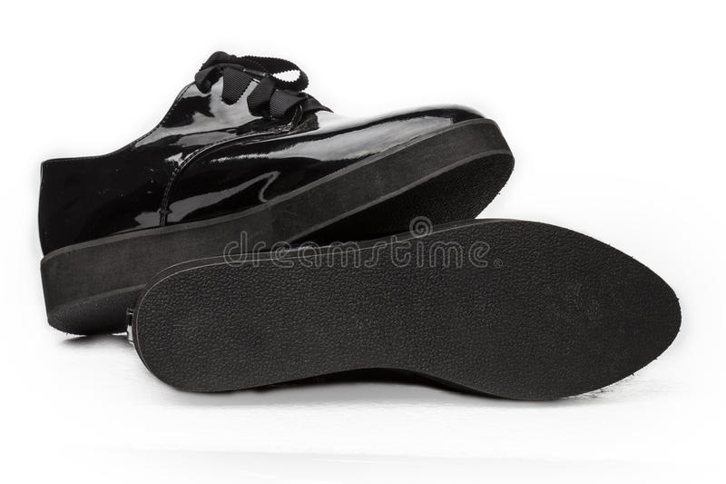 Download Leather Women`s Shoes Stock Photo - Image: 83700873