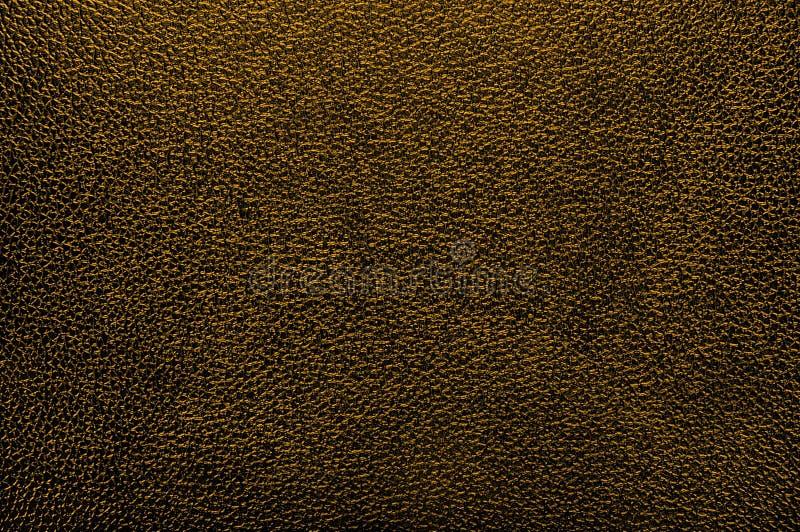 leatherette złota tekstura zdjęcia stock