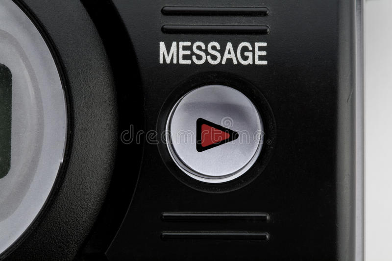 Leave a message stock photography