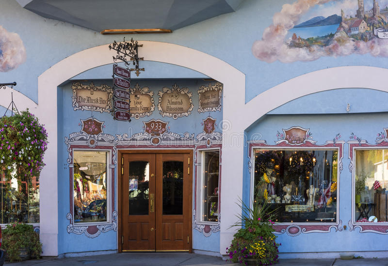 Leavenworth в осени стоковые фотографии rf