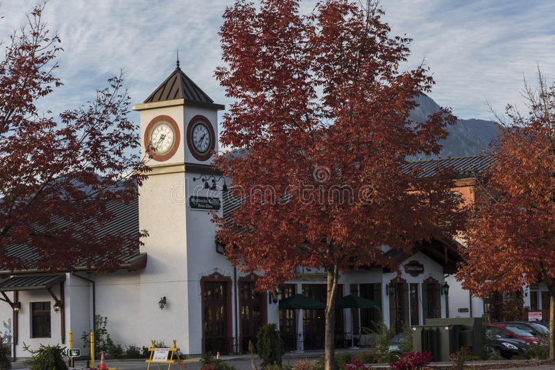 Leavenworth in Autumn stock image