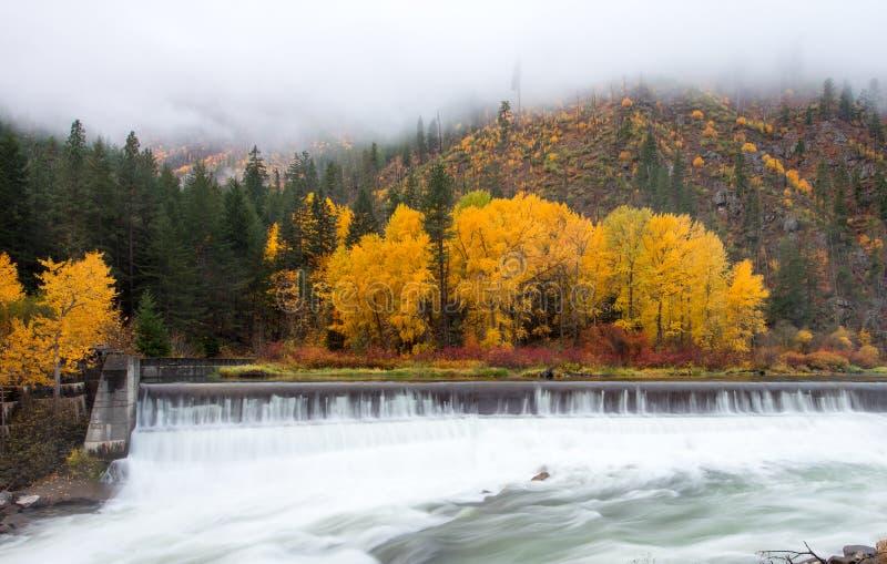 Leavenworth bonito no outono imagens de stock