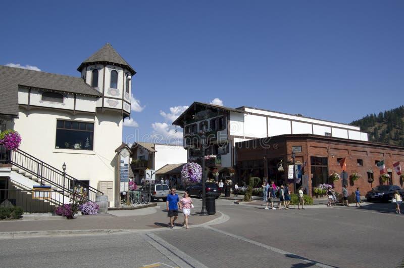 Leavenworth tyskstad arkivbilder