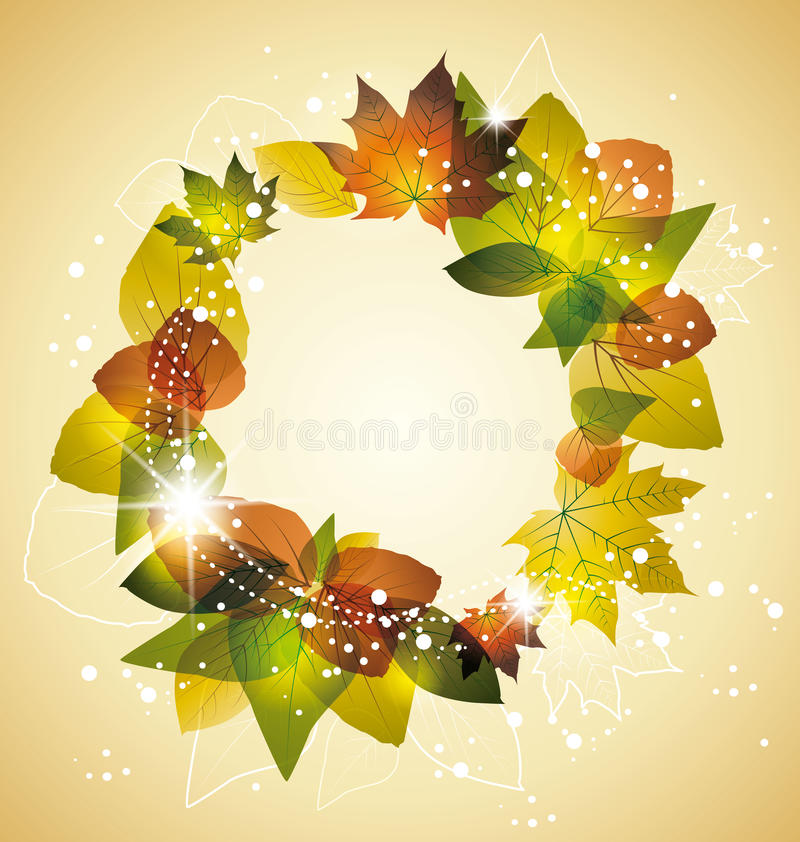 Download Leaves stock vector. Image of environment, frame, closeup - 26843616