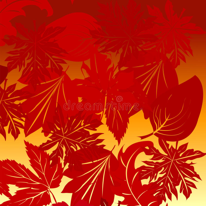 Download Leaves background stock vector. Illustration of garth - 14567466