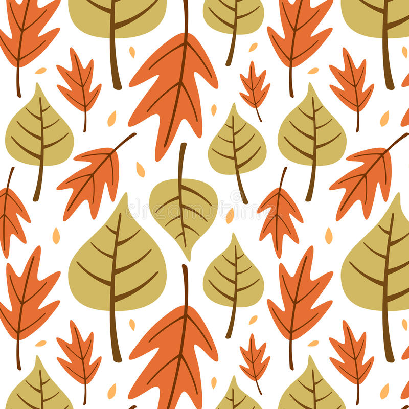 Leaves background. vector illustration