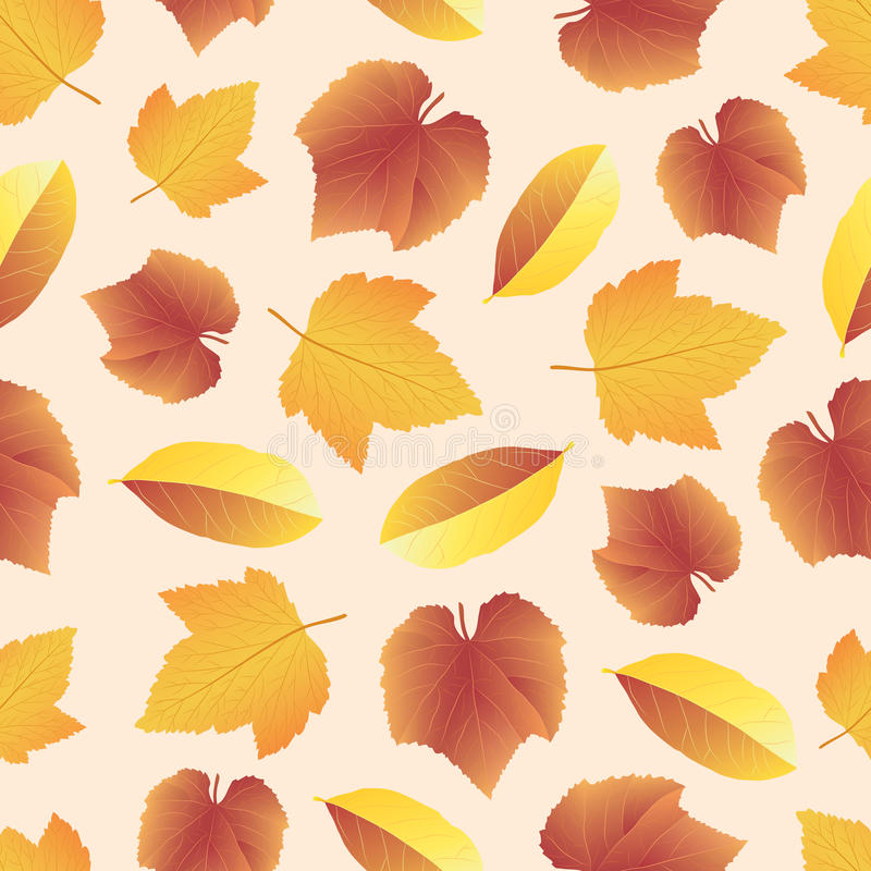 Leaves collect-04 stock illustration