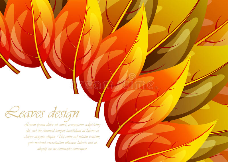Leaves Design Stock Images