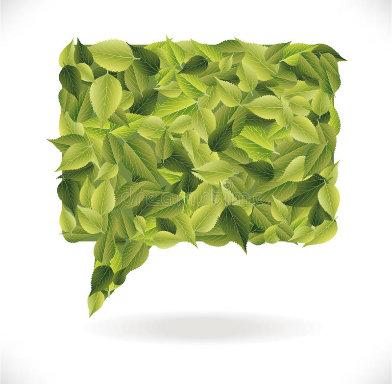Download Leaves Dialog Stock Photo - Image: 33159200