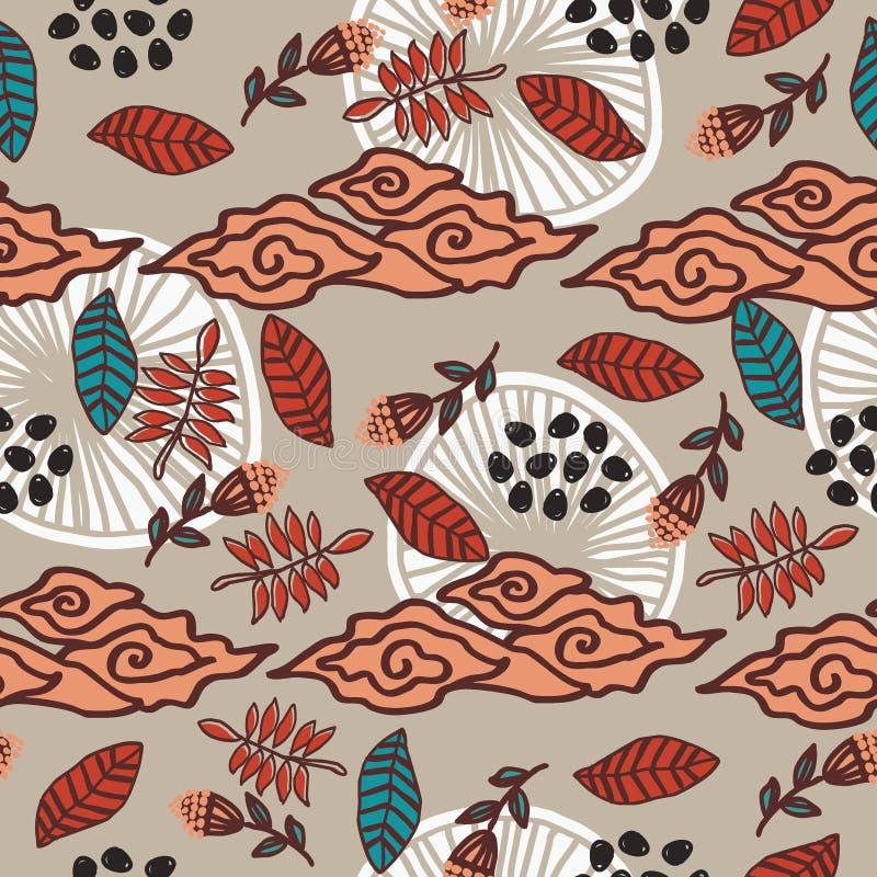 Batik Javanese Traditional Pattern Collection 1 Stock