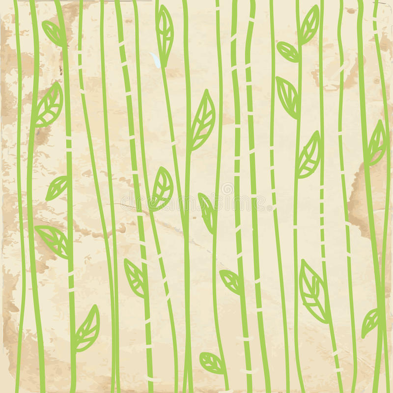 Download Leaves Graphic  Pattern On Paper Stock Vector - Illustration: 26867018