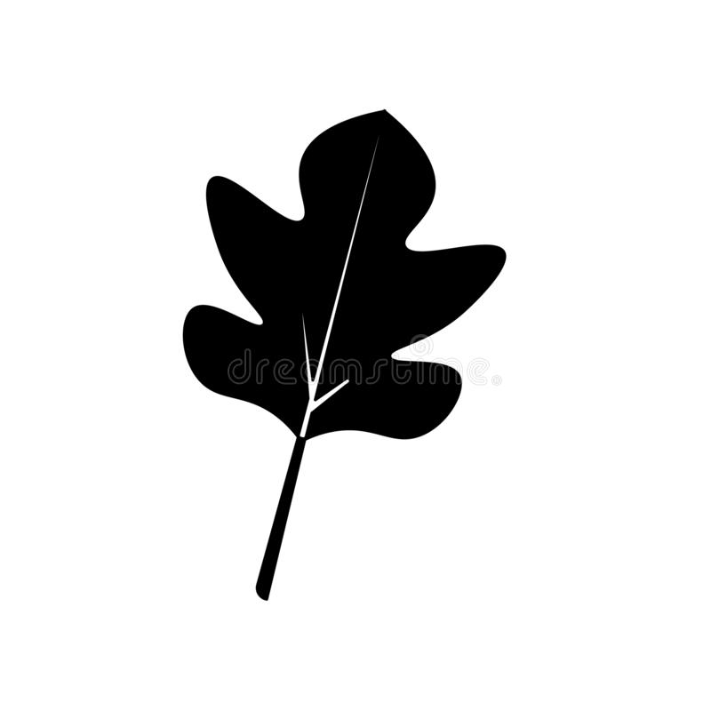 Leaves icon vector sign and symbol isolated on white background, Leaves logo concept. Leaves icon vector isolated on white background for your web and mobile app vector illustration