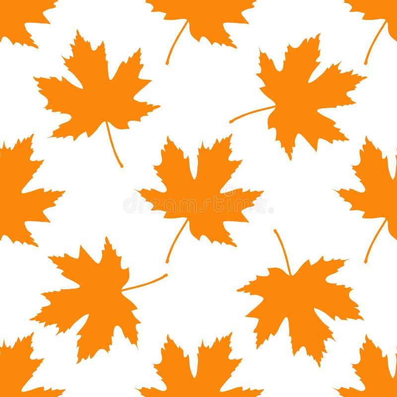 leaves mönsan seamless din bakgrundsdesign stock illustrationer