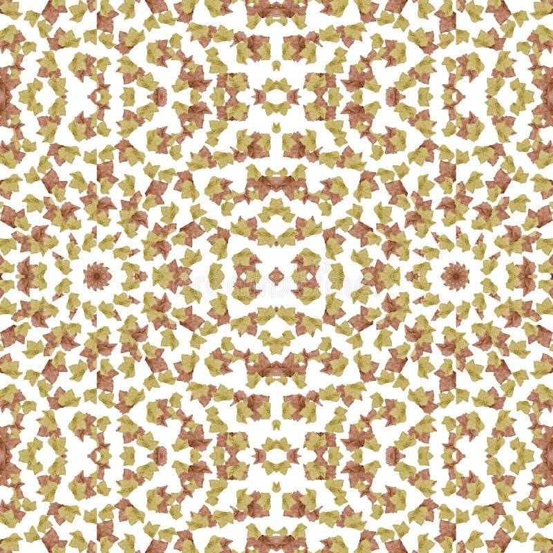 leaves mönsan stylized seamless vektor illustrationer