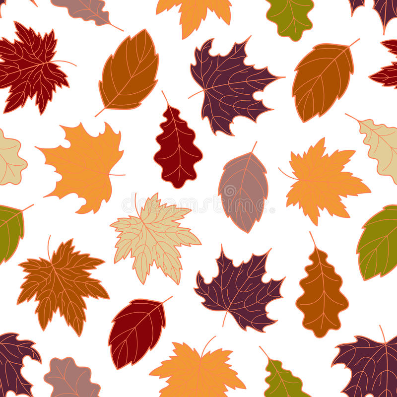 Free Leaves Seamless Fall 3 Royalty Free Stock Photo - 95383165