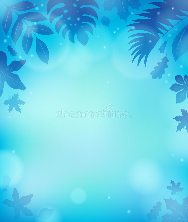 Leaves theme background 4. Eps10 vector illustration stock illustration