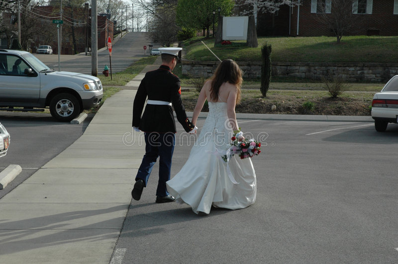 Download Leaving stock photo. Image of walk, leave, wife, flowers - 597306