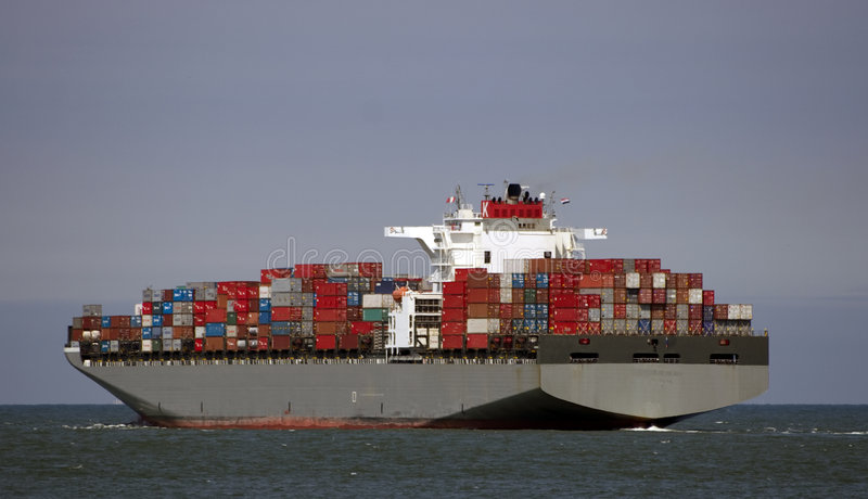 Download Leaving stock image. Image of leaving, roro, containership - 6004891