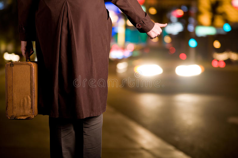 Leaving the city royalty free stock images