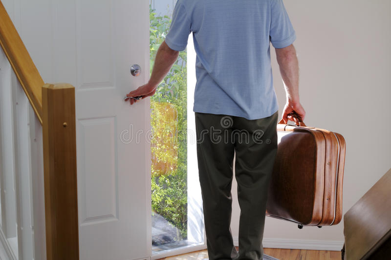 Download Leaving Home stock photo. Image of business, doorway - 21317820