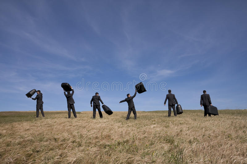 Download Leaving To A Business Travel Stock Photo - Image: 12995896