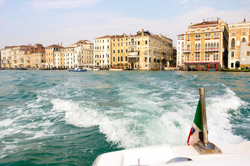 Leaving Venice Royalty Free Stock Image