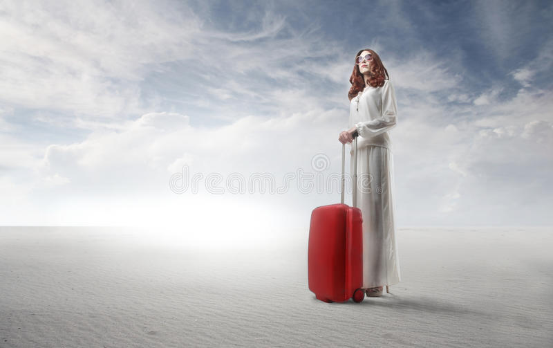 Leaving Woman