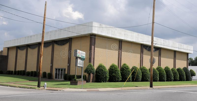 Leawood Baptist Church Memphis, TN image stock