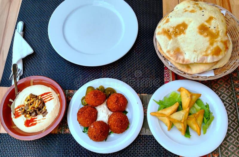 Lebanese food stock photo