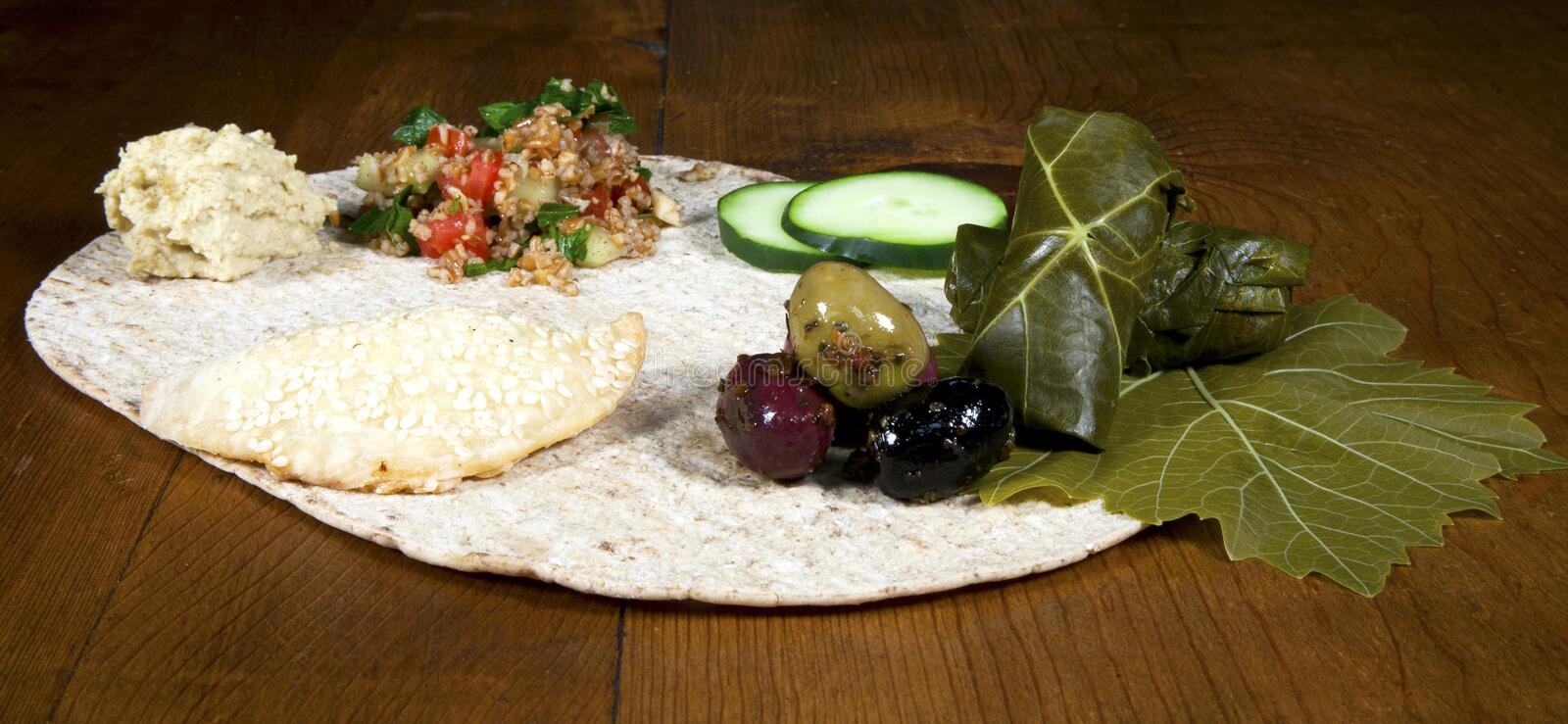 Download Lebanese Mezza stock image. Image of mezza, tabouleh - 26528663