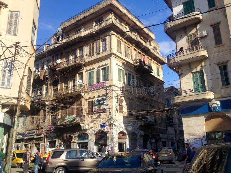 Lebanese town. Tripoli. royalty free stock images